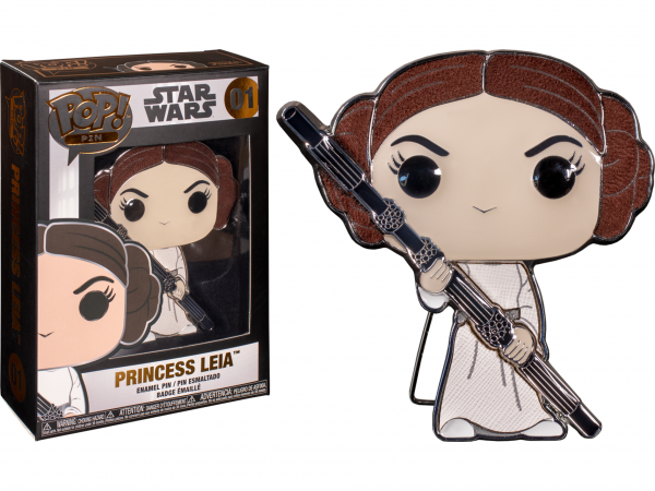 "Star Wars - Princess Leia 4"" Pop! Enamel Pin"
