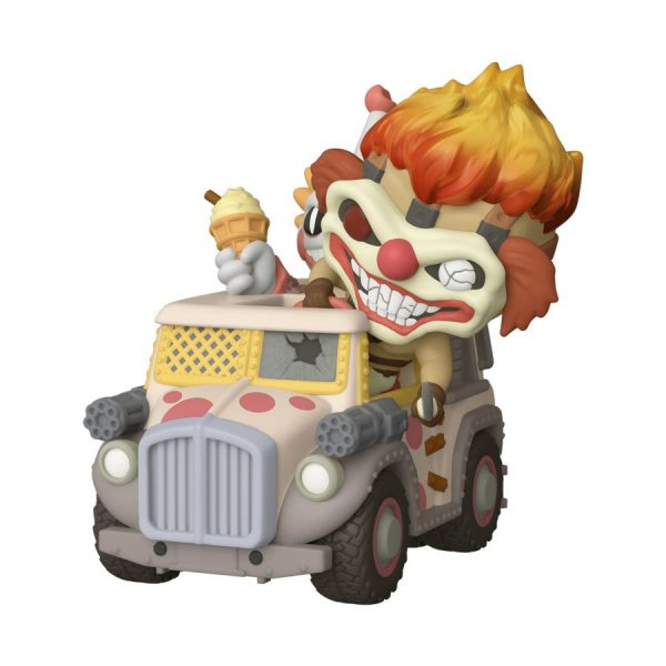 Twisted Metal - Sweet Tooth & Ice Cream Truck US Exclusive Pop! Ride