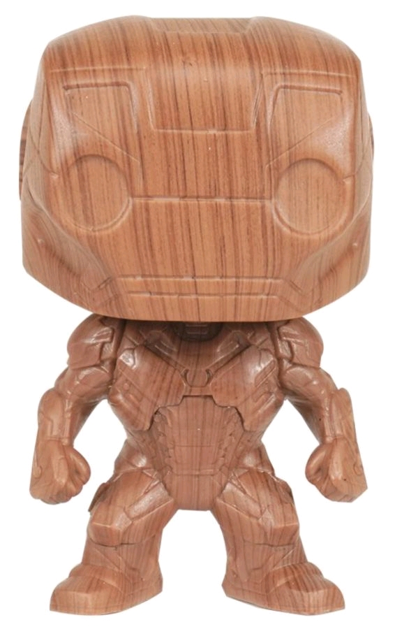 Iron Man - Iron Man Wood Deco US Exclusive Pop! Vinyl