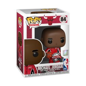 NBA: Bulls - Michael Jordan Red Warm-Ups US Exclusive Pop! Vinyl
