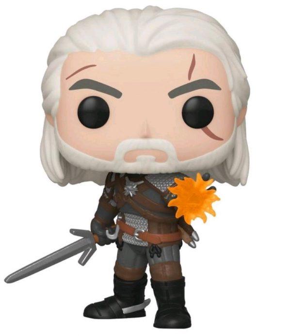 The Witcher 3: Wild Hunt - Geralt Glow US Exclusive Pop! Vinyl