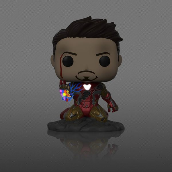 Avengers 4: Endgame - I Am Iron Man Glow Pop! Deluxe