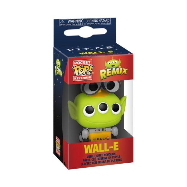 Pixar - Alien Remix Wall-E Pocket Pop! Keychain