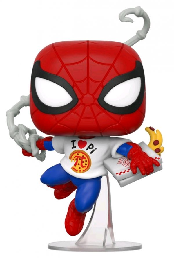 Spider-Man - Spider-Man with Pi Shirt Pop! Vinyl