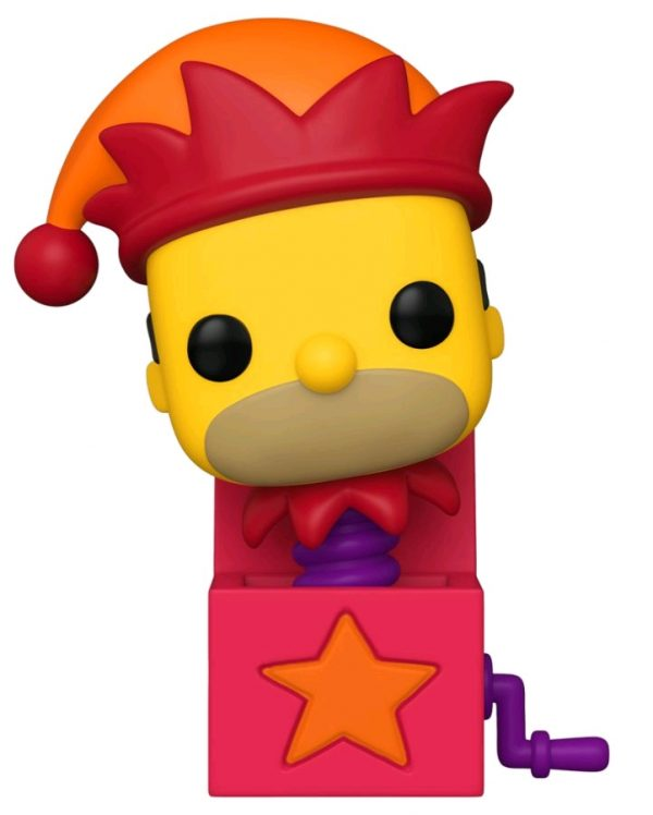 Simpsons - Homer Jack-in-the-Box Pop! Vinyl