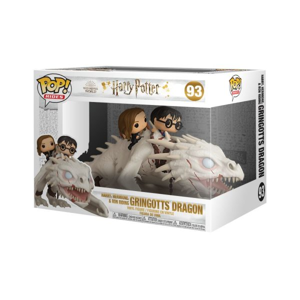 Harry Potter - Gringott's Dragon with Harry, Ron & Hermione Pop! Ride