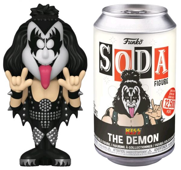 KISS - Gene Simmons (with chase) Vinyl Soda