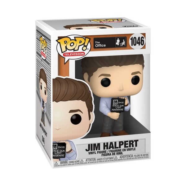 The Office - Jim with Nonsense Sign Pop! Vinyl