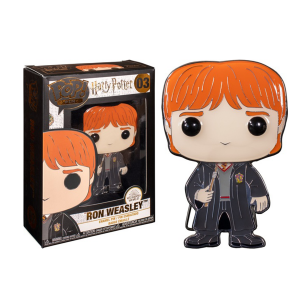 "Harry Potter - Ron Weasley 4"" Pop! Enamel Pin"