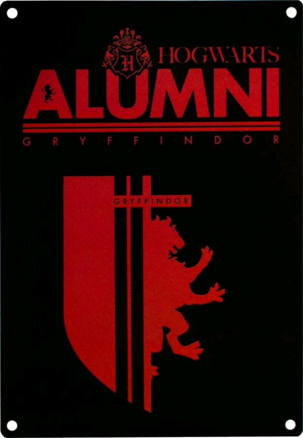 Harry Potter - Alumni Gryffindor A5 Tin Sign
