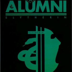 Harry Potter - Alumni Slytherin A5 Tin Sign