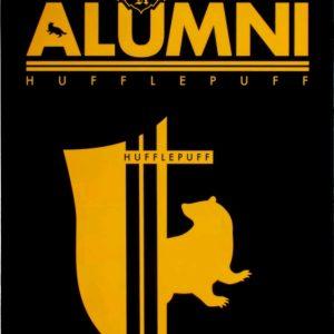 Harry Potter - Alumni Hufflepuff A5 Tin Sign
