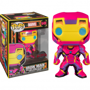 Iron Man – Iron Man Black Light US Exclusive Pop! Vinyl
