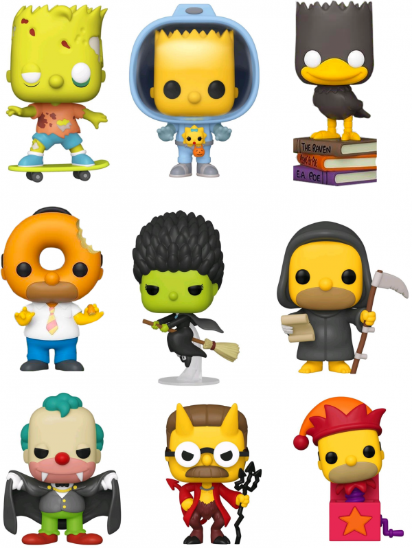 Simpsons - Tree House Of Horror Pop! Vinyl Bundle (Set Of 9)
