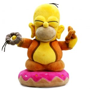 "The Simpsons - Homer Buddha 10"" Plush"