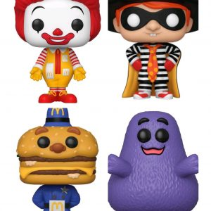 McDonalds - Ad icons Pop! Vinyl Bundle (set of 4)