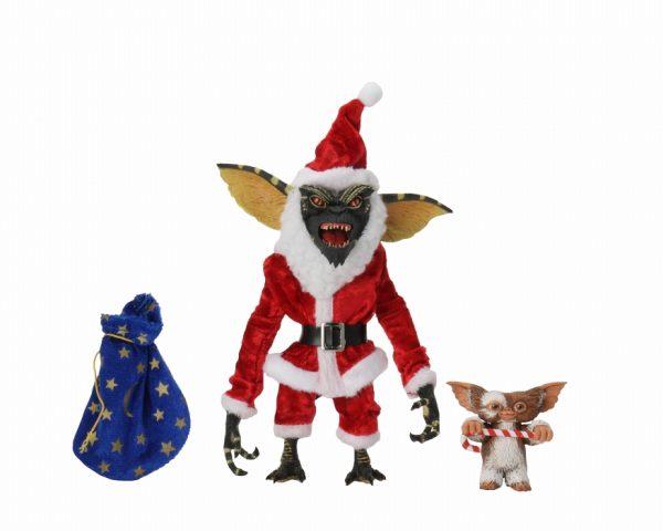 """Gremlins - Santa Stripe & Gizmo 7"""" Action Figure"""