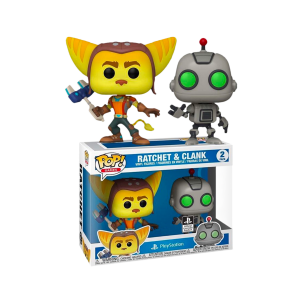 Ratchet & Clank - Ratchet & Clank US Exclusive Pop! Vinyl 2-pack