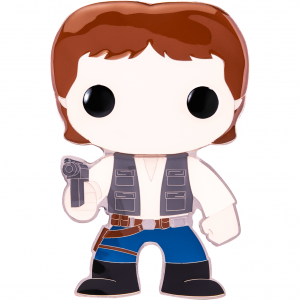 "Star Wars - Han Solo 4"" Pop! Enamel Pin"