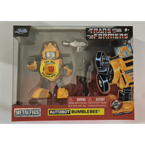 "Transformers - Bumblebee Cartoon 4"" Metals"