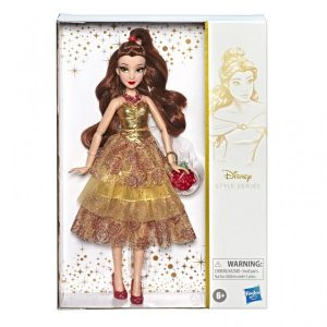 "Disney Princess Collector Style Series 11"" Fashion Doll Belle"