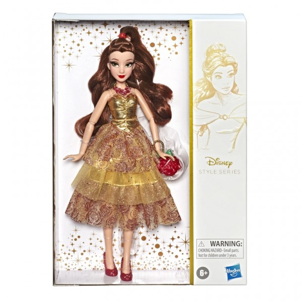 """Disney Princess Collector Style Series 11"""" Fashion Doll Belle"""