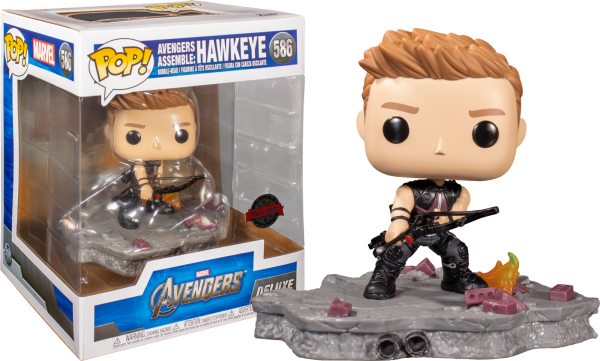 Avengers - Hawkeye (Assemble) US Exclusive Pop! Deluxe