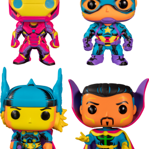 Marvel: Blacklight - Pop! Vinyl Bundle (Set of 4)
