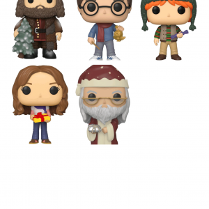 Harry Potter - Christmas Holiday Pop! Vinyl Bundle (Set of 5)
