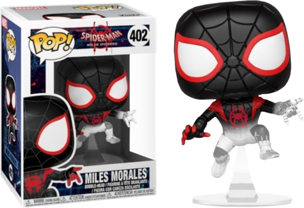 Spider-Man: Into The Spider-Verse - Miles Morales Translucent Pop! Vinyl