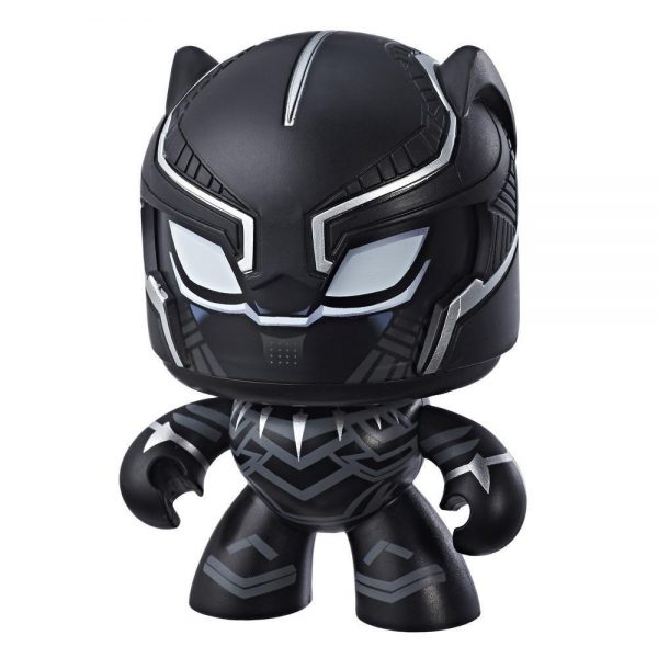 "Marvel Mighty Muggs - Black Panther 4"" Action Figure"