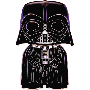 "Star Wars - Darth Vader 4"" Pop! Enamel Pin"
