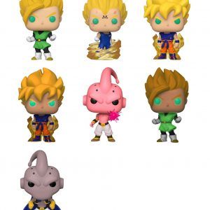 Dragon Ball Z Pop! Vinyl Bundle (Set Of 7)