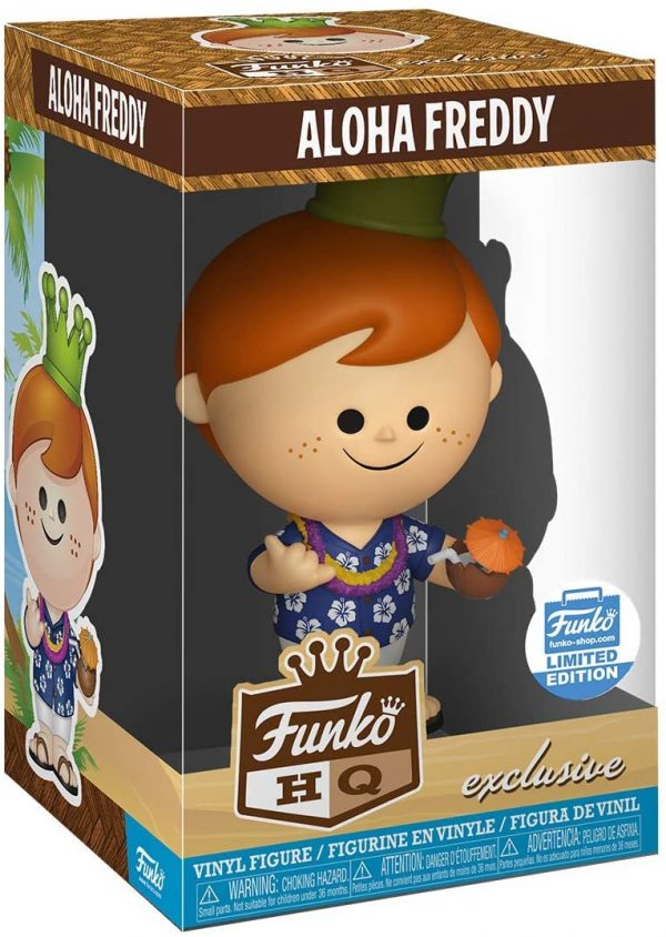 Funko Aloha Freddy HQ Limited Edition Exclusive Vinyl Figure