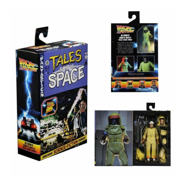 """Back to the Future - Marty Tales From Space 7"""" Action Figure"""