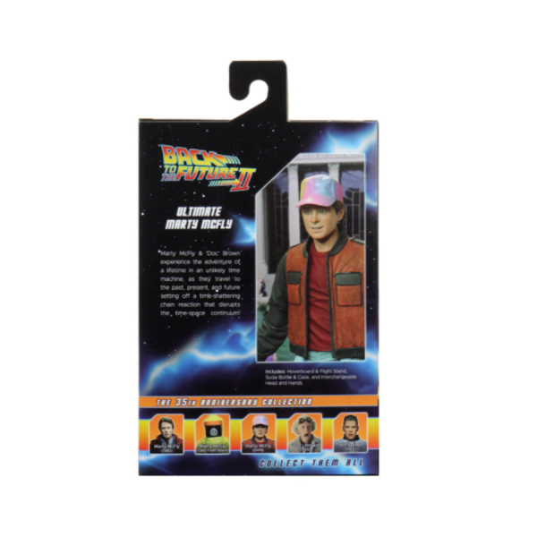 """Back to the Future - Marty Ultimate 7"""" Action Figure"""