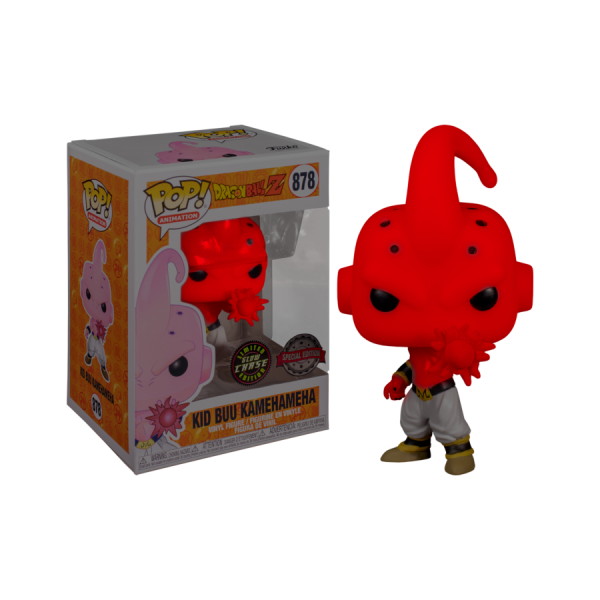 Dragon Ball Z - Kid Buu Kamehameha (with chase) US Exclusive Pop! Vinyl