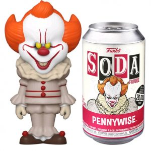 It (2017) - Pennywise (with chase) Vinyl Soda