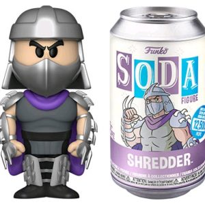 Teenage Mutant Ninja Turtles - Shredder (with chase) Vinyl Soda