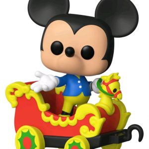 Disneyland 65th Anniversary - Mickey in Train Carriage Pop! Vinyl