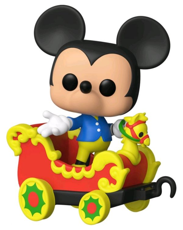 Disneyland 65th Anniversary - Mickey in Train Carriage Pop! Vinyl