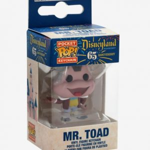 Disneyland 65th Anniversary - Mr Toad Pocket Pop! Keychain