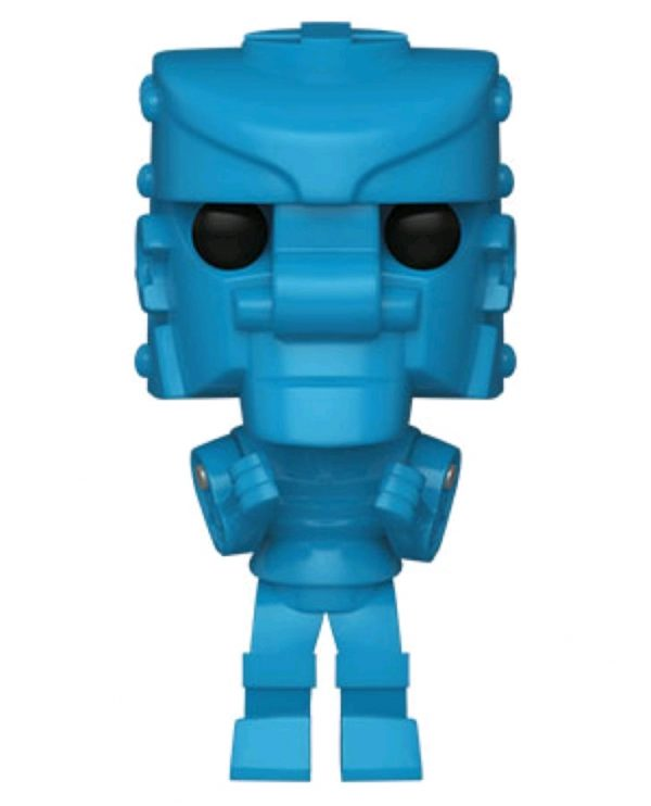 Mattel - Rock Em Sock Em Robot Blue Pop! Vinyl