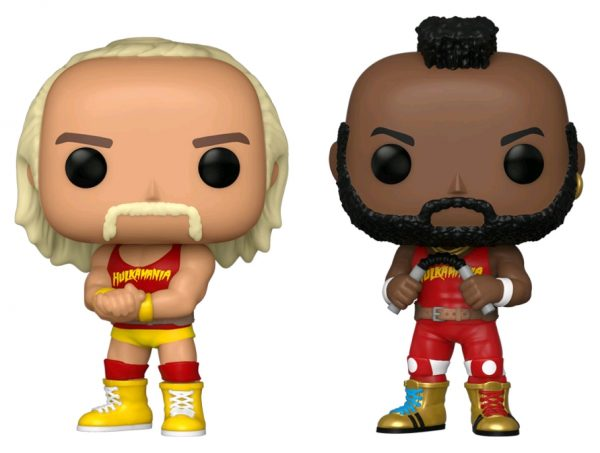 WWE - Hulk Hogan & Mr T US Exclusive Pop! Vinyl 2-pack