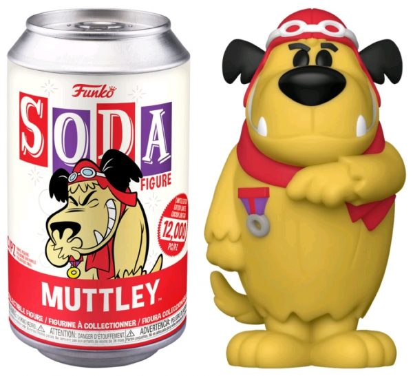 Hanna Barbera - Muttley (with chase) Vinyl Soda