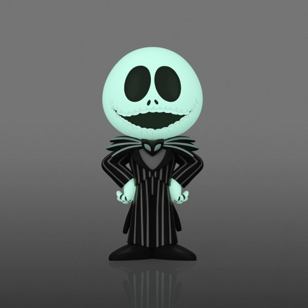 The Nightmare Before Christmas - Jack Skellington (with chase) Vinyl Soda