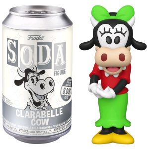 Mickey Mouse - Clarabelle Cow (with chase) Vinyl Soda