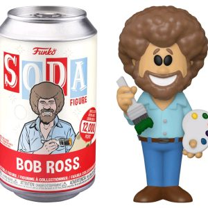 The Joy of Painting - Bob Ross (with chase) Vinyl Soda