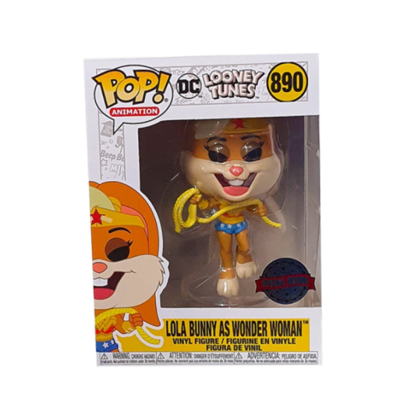 Looney Tunes - Lola as Wonder Woman US Exclusive Pop! Vinyl