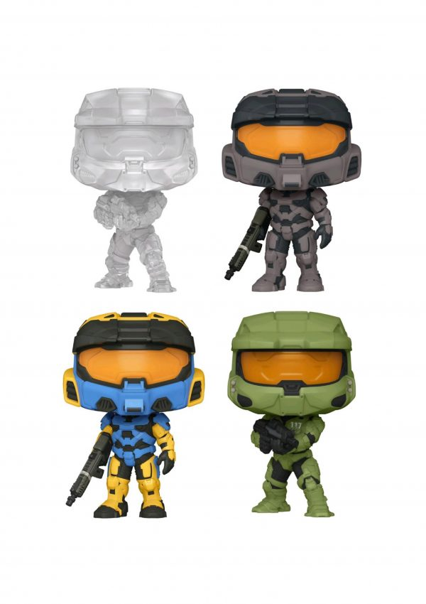 Halo Infinite - Pop! Vinyl - Bundle (Set Of 4)